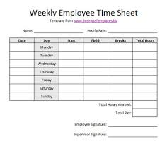 Excel Work Timesheet Template Free Printable Timesheet Templates Free Weekly Employee