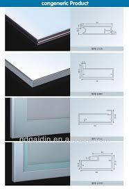 Kitchen Cabinet Door Profiles China Aluminum Extruded Profile For Kitchen Cabinet Frame