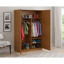 home depot black friday closet system ameriwood wardrobe storage closet with hanging rod and 2 shelves