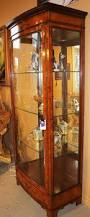 Lighted Display Cabinet Antique Cabinets Bookcases
