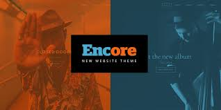 free encore menu templates new website theme encore