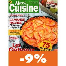 maxi cuisine magazine abonnement maxi cuisine pas cher mag24 discount