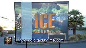 Backyard Projector Screen by Stunning Daytime Projection Demonstration Uncovers The Truth About