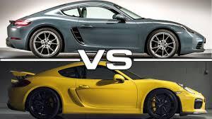 porsche cayman comparison porsche 718 cayman vs porsche cayman gt4
