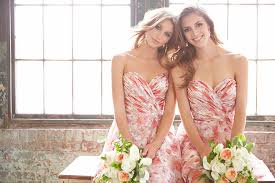 floral print bridesmaid dress floral print bridesmaid dresses in bloom on trend