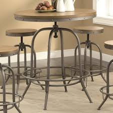 Adjustable Bar Table Coaster Bar Units And Bar Tables Transitional Adjustable Bar Table