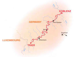 Koblenz Germany Map by Biking In The Mosel May 2011