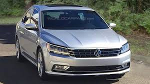 passat volkswagen 2016 2016 volkswagen passat us spec facelift spied undisguised during