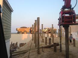 Homes On Pilings by Foundation Pilings