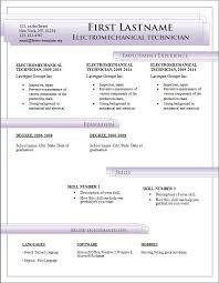free templates for resumes on microsoft word resume template and