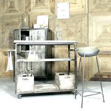 cuisine bois et metal desserte de cuisine en bois e roulettes desserte de cuisine en bois
