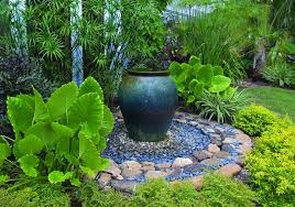 small backyard landscaping ideas with tub the garden