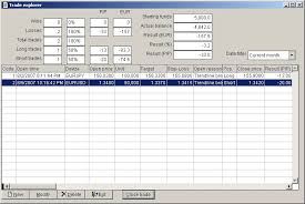 Options Trading Journal Spreadsheet by Trading Journal Template