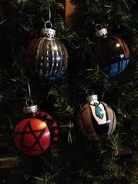 supernatural show sigils ornaments finished crafts