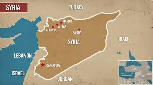 Map Of Syria And Israel by Turkey Starts Offensive To Take Manbij From Kurds