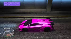 hot pink colour gta online rare neon glowing hot pink rare crew colors 1 youtube
