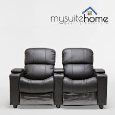 Viva 2577 Home Theater Recliner Furniture Made Home Theater Seating Leather Recliners