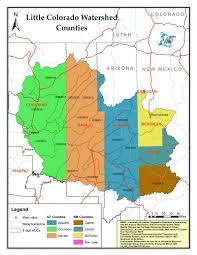 Arizona Counties Map by Arizona Nemo Main Page