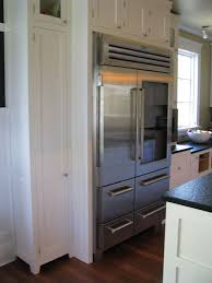 Viking Kitchen Cabinets by Viking Refrigerator Heaven Extra Length Hidden By Box Around