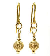 9ct gold earrings hook 9 carat yellow gold drop dangle earrings ebay