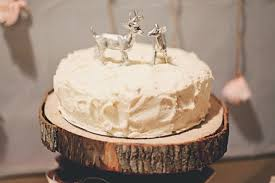 buck and doe cake topper real weddings ben jen kc you there