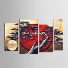 Japanese Home Decor Store by Compare Prices On Hand Painted Japanese Canvas Oil Paintings