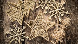 gold small ornaments hd wallpaper wallpaperfx
