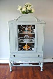 small china cabinets and hutches small white china cabinet amazing one of a kind refinished style