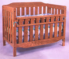 Oak Convertible Crib Convertible Child S Crib Bed That Grows With Your Child By