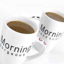 his and hers mug his and morning coffee mug set ceramic tableware menkind