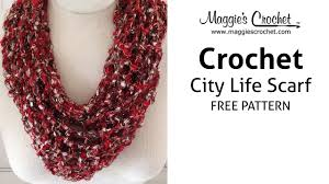 city life scarf for mother u0027s day right handed youtube