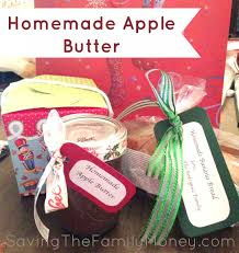 homemade crockpot apple butter great christmas gifts saving