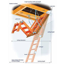 stairs that disappear attic attic ladder and attic ideas