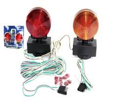magnetic tow light kit 3 in 1 towing trailer truck