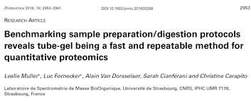 news in proteomics research july 2017