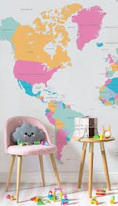 World Map Wallpaper 98 Best Children U0027s Room Wallpaper Ideas Images On Pinterest