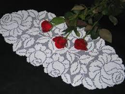 Crochet Table Runner Pattern Advanced Embroidery Designs Fsl Crochet Rose Table Runner