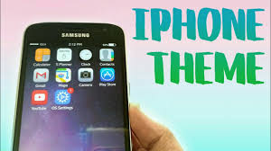 clock themes for android mobile make your android phone look like iphone ios theme for android