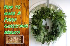 live christmas wreaths how to make a fresh christmas wreath
