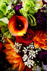 Wedding Flowers Fall Colors - 38 purple orange and green wedding flowers jpg love with that