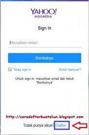 membuat email yahoo indonesia daftar email yahoo buat email baru di yahoo mail indonesia cara