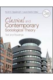 test bank for classical and contemporary sociological theory 3rd