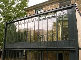 vitrage toiture veranda véranda style atelier d u0027artiste