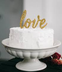 wedding cake anniversary cake topper gold cake topper wedding cake topper