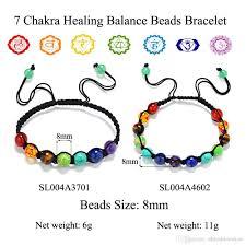 adjustable bead bracelet images 2018 2017 new 7 chakra bracelet men adjustable braided rope jpg