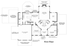 Center Hall Colonial Floor Plans Toll Brothers At Oak Creek The Waterford Ii Home Design