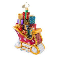 35 best christopher radko sleigh ornaments images on