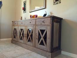 furniture rustic buffet table narrow sideboard buffet credenza