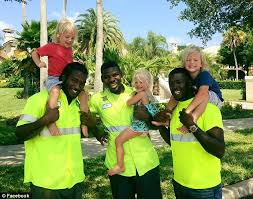 Garbage Man Meme - meet the florida triplets who have formed a special bond with