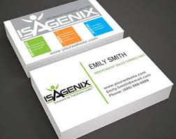 Sales Business Card Advocare Business Cards For Independent Distributor